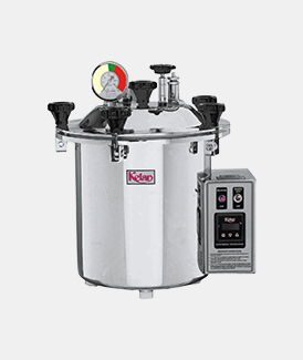 Portable Steam Autoclave(Semi Automatic)